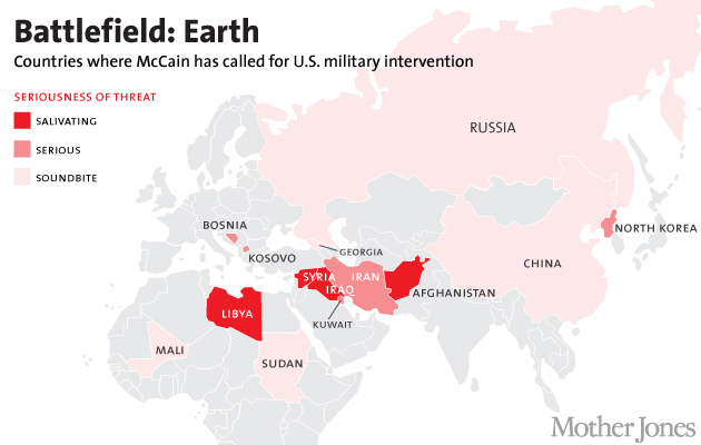 McCain-Map