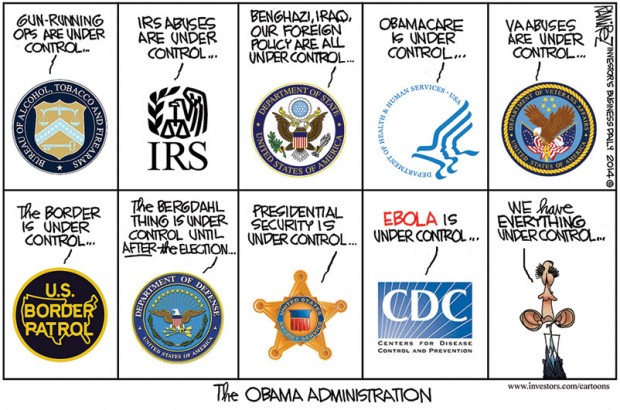 2014 under control_obama